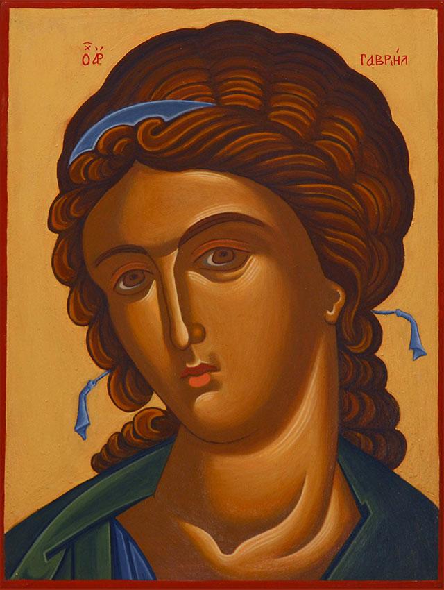 Portrait of Archangel Gabriel