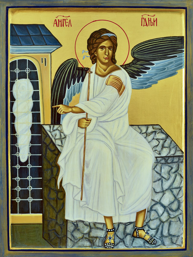 White Angel – The Mileseva Monastery