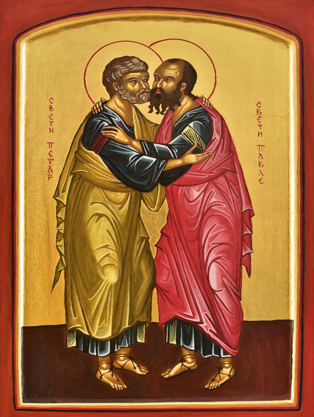 The Embrace of Saint Peter and Paul